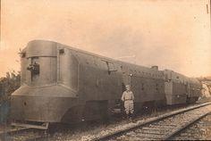 1916. Austrian armored train