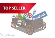 crorkservice: make 100 social media backlinks for $5, on fiverr.com