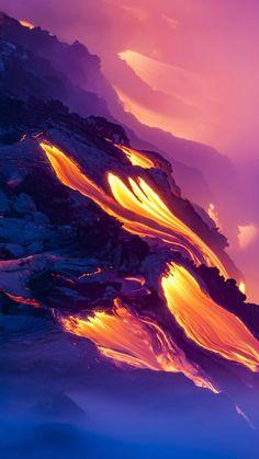 Volcano eruption iPhone Wallpaper - iPhone Wallpapers