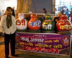 Delhi's street drink in winters - Kanji