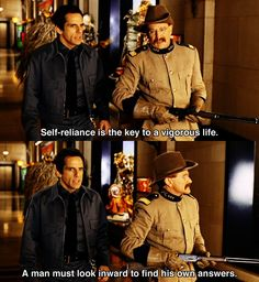 Self-reliance ~ Night at the Museum ~ Movie Quotes Movie Quotes, Romance Quotes, Song Quotes, Funny Quotes, Ben Stiller, Night At The Museum, Best Motivational Quotes, Quotes Inspirational, 3 Movie