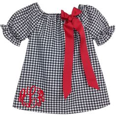 Our Rags Land Black Houndstooth Puff Sleeve Peasant Blouse! Shop NOW at www.ragsland.com & follow Ragsland on Instagram!