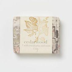 Saipua Cedarwood Soap in Spa+Accessories SPA+BEAUTY Bath+Body Soaps at Terrain