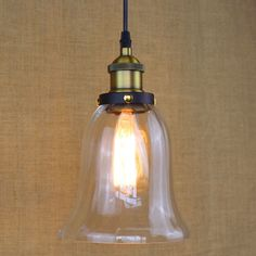 ==> [Free Shipping] Buy Best Glass Pendant Lamp Modern Vintage Edison Bulbs Bar Restaurant Bedrooms Large Shopping mall Muuto E27 Art Diningroom Online with LOWEST Price | 32801478790