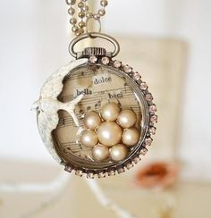 Altered pocket watch