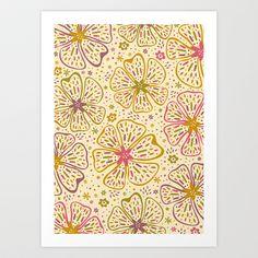 Sunkist Art Print by Anna Deegan - $16.00
