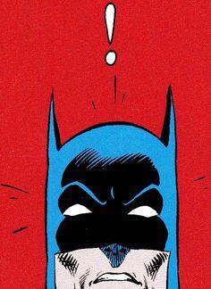 batman pop art.                     is he scared by me? :P