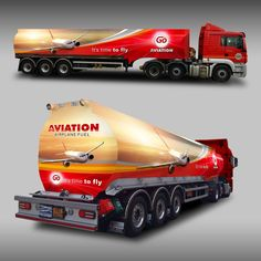 GO AVIATION Vehicle Wrap Design by MasterWrap(F3D)