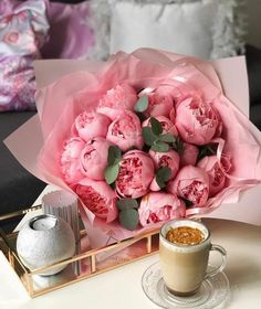 Good Morning Photos, Good Morning Wishes, Coffee And Books, Coffee Love, Pink Love, Pretty In Pink, Flower Graphic, Coffee Photography, Adventure Photography