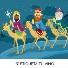 Melchor, Gaspar y Baltasar  ¡Me parece que este año mis regalos van a triunfar!