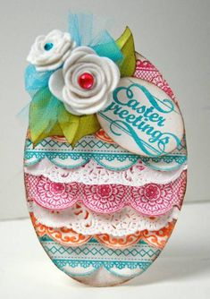 Easter Egg by chelemom - Cards and Paper Crafts at Splitcoaststampers