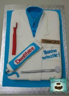 dentist cake www.facebook.com/gateauxmagik