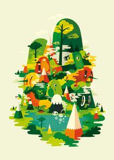 Illustration Portfolio of Sami Viljanto