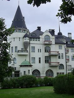Imatra State Hotel - one of the most notorious Art Nouveau buildings in Finland.