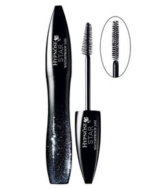 """There's a few cool things about this mascara and its brush head: 1.The brush has two sides: a flat one, which helps build intense volume and a flared that helps comb through the lashes to give you that Kardashian """"Wow Factor."""" 2. The moisturizing panthenol in it keeps the formula flexible on your lashes instead of stiff, which can lead to unsightly flakes come 4 p.m. 3. It stays on all day and all night because it's waterproof. Hypnôse Star 24H Waterproof Show-Stopping Volume Mascara, $28…"""
