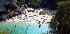 Macarelletan ranta, Menorca http://www.rantapallo.fi/espanja/menorca/