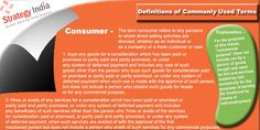 """Know what is """"#Consumer"""" is stand for in #directselling. For detailed information related direct selling terminology and #mlmguidelines visit www.strategyindia.com"""
