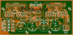 Power STK Watt Besar yang sederhana Diy Amplifier, Electronic Circuit, Electronics, Audio, Guitar, Consumer Electronics, Guitars
