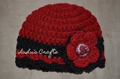 Easy, free crocheted hat pattern for baby through adult