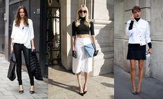 os Achados | Moda | Preto & Branco | Nivea