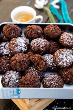 Chocolate Desserts, Soul Food, Biscuit, Cookie Recipes, Cereal, Cookies, Breakfast, Sweets, Recipes For Biscuits