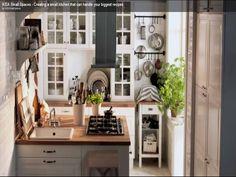 tight kitchen layout