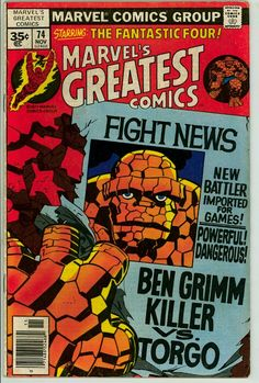 Marvel's Greatest Comics 74 (VG 4.0)