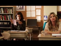 1x4 (aria and hanna in class at school)