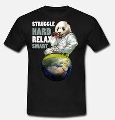 Relax, Cool Panda, Fresh Outfits, Entrepreneur, Trends, Cool Stuff, Mens Tops, Design, Pandas