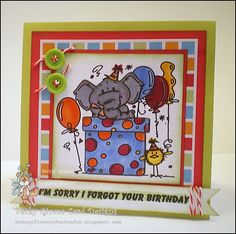 I'm Sorry I Forgot by tggrfriend - Cards and Paper Crafts at Splitcoaststampers
