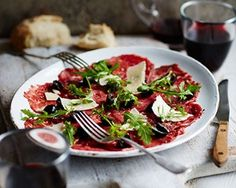 Beef carpaccio: Recipes: Good Food Channel