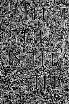 Tobias Alpert hand drawn lettering on Flickr.