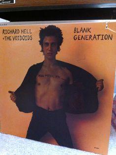 Snake Oil Recording's Morning Listening - Richard Hell & The Voidoids - Blank Generation   #rva #rvamusic #recording #punk  #vinyl #studio #audio #records   Http://www.snakeoilrecording.com