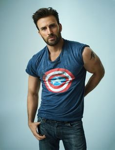 "imwithkanye: "" Chris Evans for Rolling Stone """
