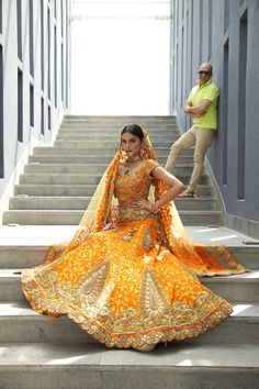 Lengha by Mayyur Girotra #lehenga #choli #indian #shaadi #bridal #fashion #style #desi #designer #blouse #wedding #gorgeous #beautiful