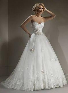 Wedding dress a line 2016 » WeddingBoard