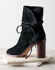 Pour La Victoire Irona Tie Ankle Boots