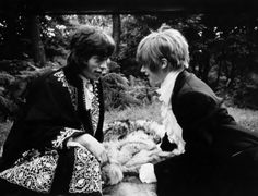 Mick Jagger & Marianne Faithfull, London, 1968.