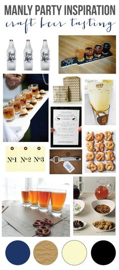 mint love social club: {manly party inspiration: craft beer tasting party}