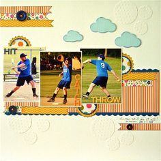 Scrapbook Page by Sue Althouse | GetItScrapped.com/blog