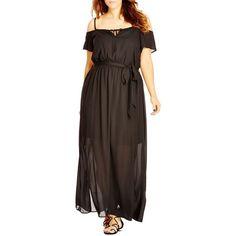 ac20401f8f9 City Chic Cold Shoulder Maxi Dress (Plus Size) (5