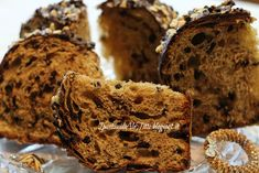 I pasticci di Ale Titti : Panettone cioccolato e nutella Dessert Recipes, Desserts, Biscotti, Gnocchi, Nutella, Muffin, Breakfast, Food Blogs, Croissant