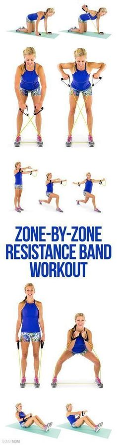 Resistance band workout | Posted By: CustomWeightLossProgram.com #resistancebands