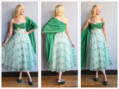 1950s Dress // Home for the Holidays Dress // vintage 50s dress by dethrosevintage on Etsy https://www.etsy.com/listing/258140515/1950s-dress-home-for-the-holidays-dress