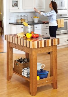Butcher Block Island (DIY - or hire someone who knows what they're doing. Not me)