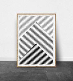 Wall printables - geometric print geometric art black and white stripes printable art black and white print minimalist art printable wall art lines art Art Scandinave, Art Blanc, Arte Linear, Cuadros Diy, Minimal Art, Art Minimaliste, Geometric Lines, Geometric Wall Art, Minimalist Decor
