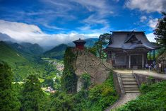 Sacred mountain temples ( Yamadera )