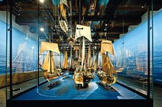 Beautiful. Stylised thematics at their best. National Maritime Museum Amsterdam.