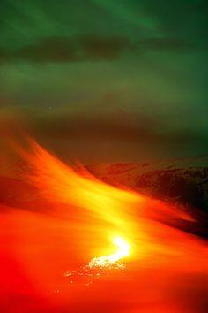 eruption iceland volcano