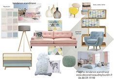 SCANDINAVIAN TREND BOARD  #board #decoration #decorations #Scandinavian #trend Interior Design Blogs, Mood Board Interior, Estilo Interior, Interior Paint Colors, Paint Colors For Home, Interior Styling, Deco Dyi, Living Room Designs, Living Room Decor